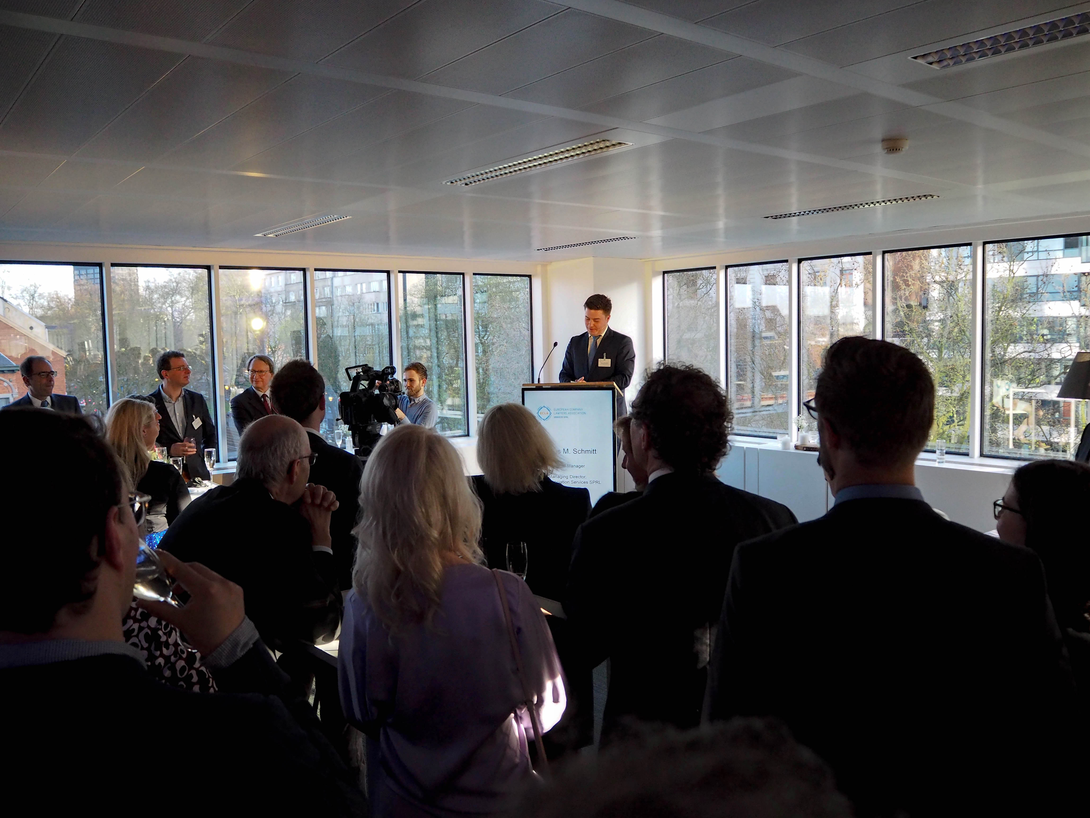 RECEPTION 2018 - KICK-OFF AT ECLA'S NEW OFFICE IN BRUSSELS